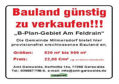 Fotoalbum Baugebiet Am Feldrain, Milmersdorf