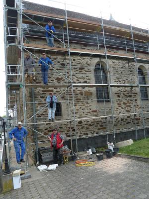 Fotoalbum Sanierung und Renovierung der St.-Remigius-Kirche