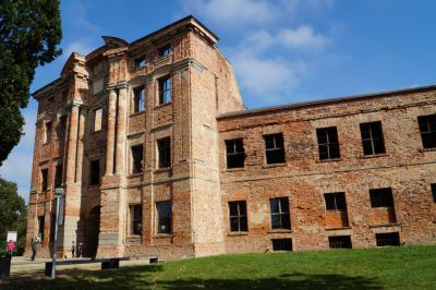 Fotoalbum Stand weiterer Sicherungsmaßnahmen an der Dahmer Schlossruine