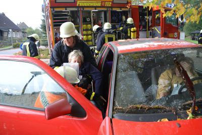 Fotoalbum Feuerwehrübung in Halenbeck