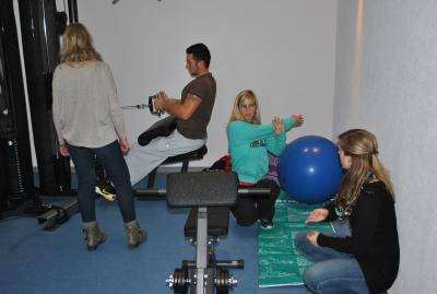 Fotoalbum Einweihung Fitnessraum