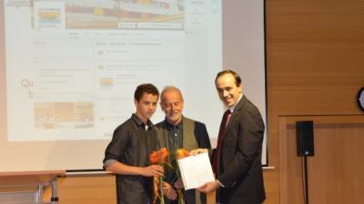Foto des Albums: feierliche Unterzeichnung des Kooperationsvertrages mit dem JugendServiceTeam (14.10.2014)