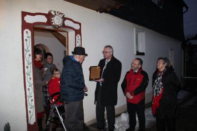 Fotoalbum Ehrenbürgerschaft verliehen