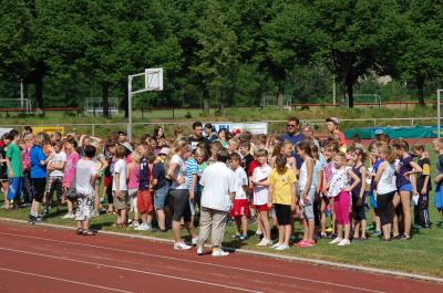 Fotoalbum Integratives Sportfest, Eröffnung Barnimer Sportwoche