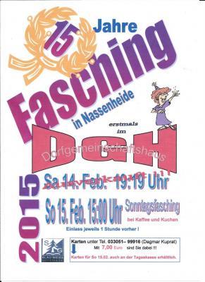 Fotoalbum Faschingsnachmittag