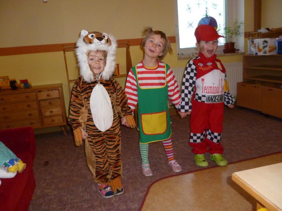 Vollmershain Fasching Im Kindergarten