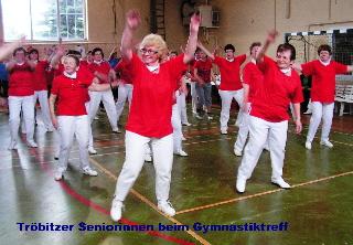 Fotoalbum Gymnastiktreff 2008 in Tröbitz