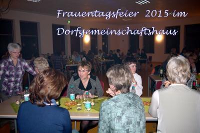 Fotoalbum Frauentagsfeier 2015
