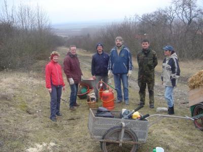 Fotoalbum Landschaftspflege - Entbuschung des Kirschberges