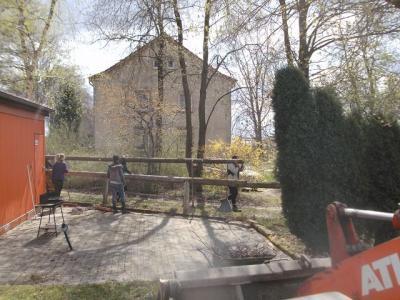Foto des Albums: Arbeitseinsatz (18.04.2015)