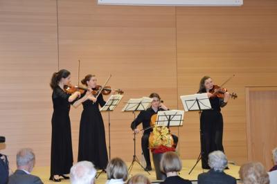 Foto des Albums: Streichkonzert mit dem Rothermund Quartett (20.04.2015)