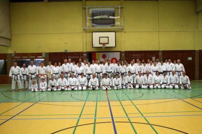 Fotoalbum 4. Osterlehrgang beim Karate Do Gladbeck