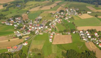 Fotoalbum Gemeinde Pullenreuth; Luftbilder einzelner Ortsteile