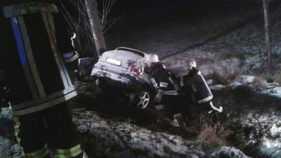 Fotoalbum Verkehrsunfall Rauschensteig