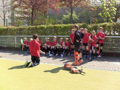 Foto des Albums: Hockey: Pokalspiel der Knaben B2 (03.05.2015)