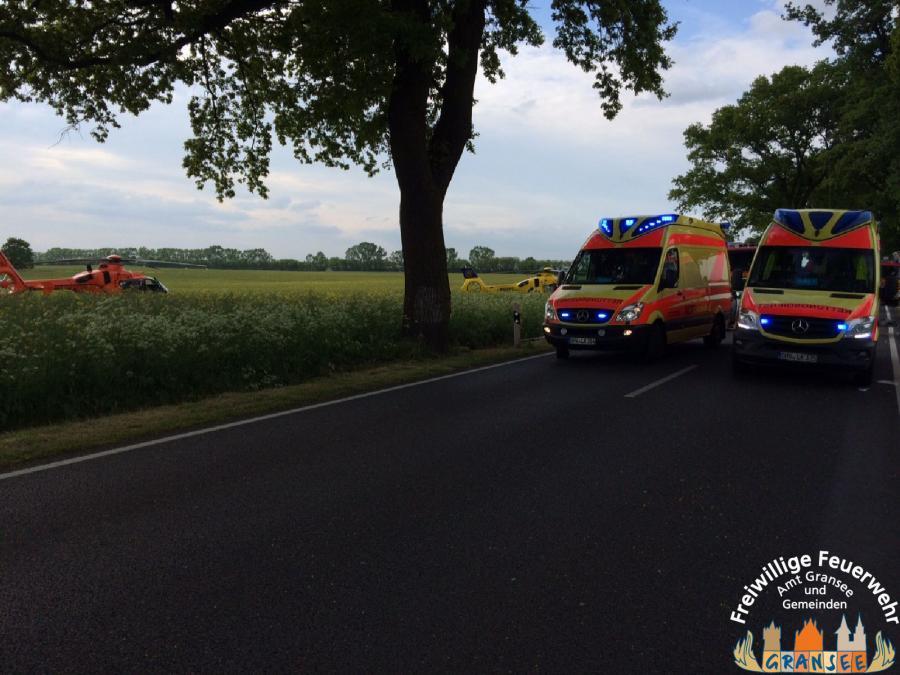 Amt Gransee Und Gemeinden Feuerwehr 4 Schwerverletzte