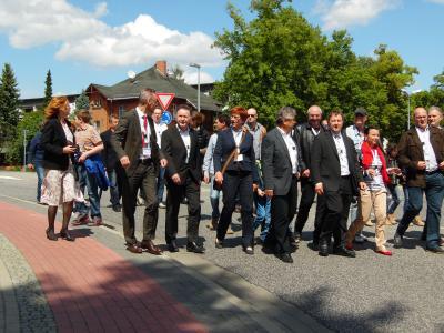 Fotoalbum Eröffnung Straßenunterführung Kienitzer Straße am 30.05.2015
