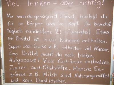 Fotoalbum Viel Trinken - aber richtig!