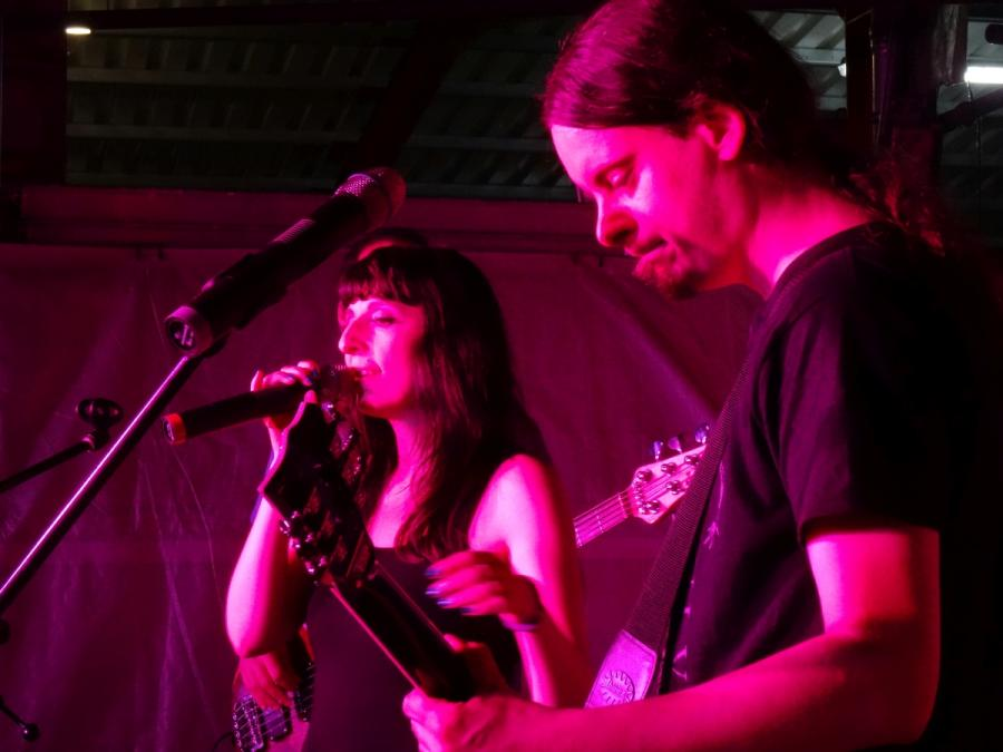 Nauheim Die Berliner Band Cosma Nova Bei Live Im Hof At Nauheim