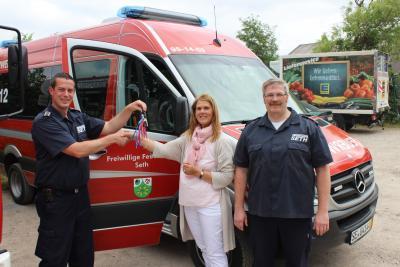Fotoalbum Neues Mehrzweckfahrzeug für die Feuerwehr