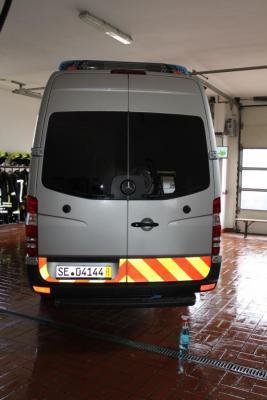 Fotoalbum Vom Transporter zum Feuerwehrauto