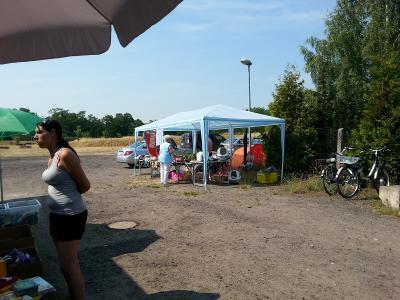 Fotoalbum Hitze-Flohmarkt