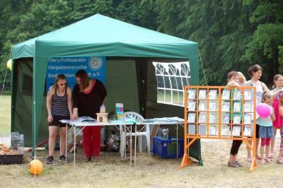 """Fotoalbum Wir bei der Lila-Bäcker-Tour """"Zu Besuch bei Freunden"""" am 13.07.15"""