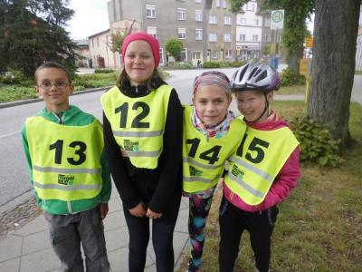 Fotoalbum Fahrradprüfung der Viertklässler 2015