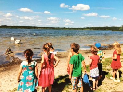 Fotoalbum Kita Spatzennest - Picknick der ABC-Spatzen am Rangsdorfer See am 23.07.2015
