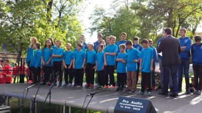 Fotoalbum Sportlerehrung 2015 im Schlosspark am Tag des Sports