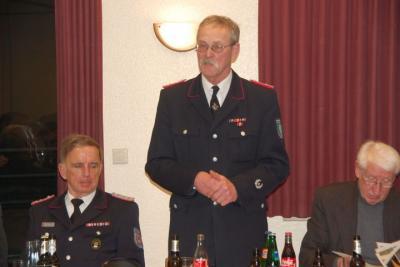 Fotoalbum Jahreshauptversammlung 2012 der Freiwilligen Feuerwehr Langeln