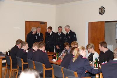 Fotoalbum Jahreshauptversammlung 2013 der Freiwilligen Feuerwehr Langeln
