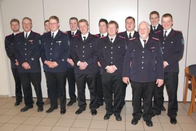 Fotoalbum Jahreshauptversammlung 2014 der Freiwilligen Feuerwehr Langeln