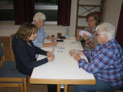 Fotoalbum Treffen der Spielegruppe