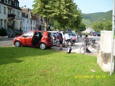 Fotoalbum Mosel-Maare-Tour per Fahrrad