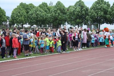 Fotoalbum Eröffnung der BSW mit dem Integrativen Sportfest