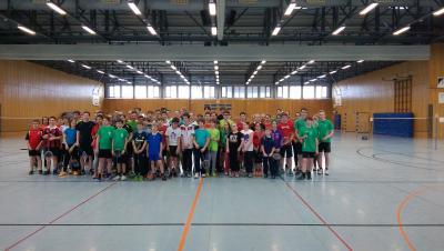 Fotoalbum Badminton Turnier Flieden 2015