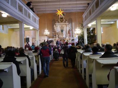 Fotoalbum 3. Weihnachtsmarkt auf dem Kirchplatz in Brüssow