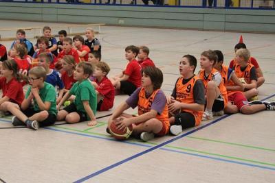 Fotoalbum Basketball Grundschulliga
