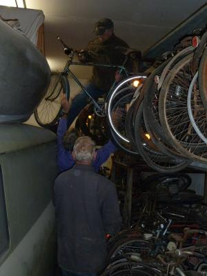 Fotoalbum alte Fahrräder