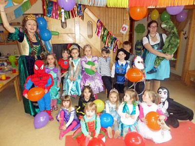Kitas Geiselbach De Fasching Im Kindergarten Omersbach