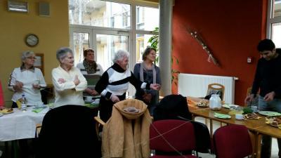 Fotoalbum Erstes Sprachcafé im Seniorenwohnkarree