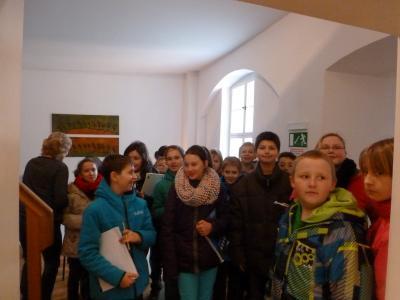 Fotoalbum Grundschüler zu Besuch in der Verwaltung