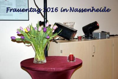 Fotoalbum Frauentagsfeier in Nassenheide