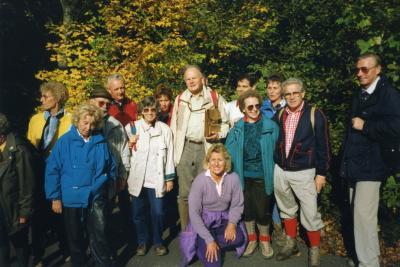 Fotoalbum Einzelne Bilder von Wanderwochenenden aus den Jahren 1988, 1989, 1992 und 1997