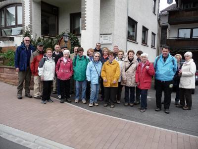 Fotoalbum Wanderwochenende vom 19.04. - 21.04.2013 in Eschau-Wildensee (Spessart) - Gasthaus Pension Waldfrieden
