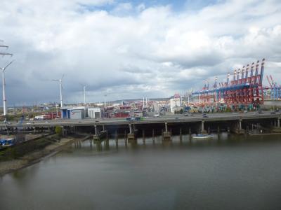 Fotoalbum Impressionen Containerterminal Hamburg
