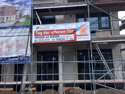 """Fotoalbum Bauphase """"Wohnen mit Service"""""""
