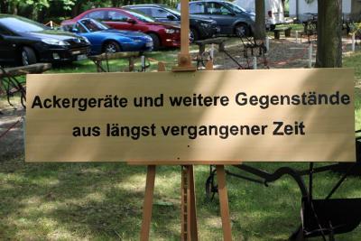 Fotoalbum Museumstag im Dorfmuseum Friedrichsaue