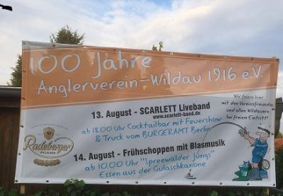 Fotoalbum 100 Jahre Angelverein Ortsgruppe - Wildau 1916 e.V.